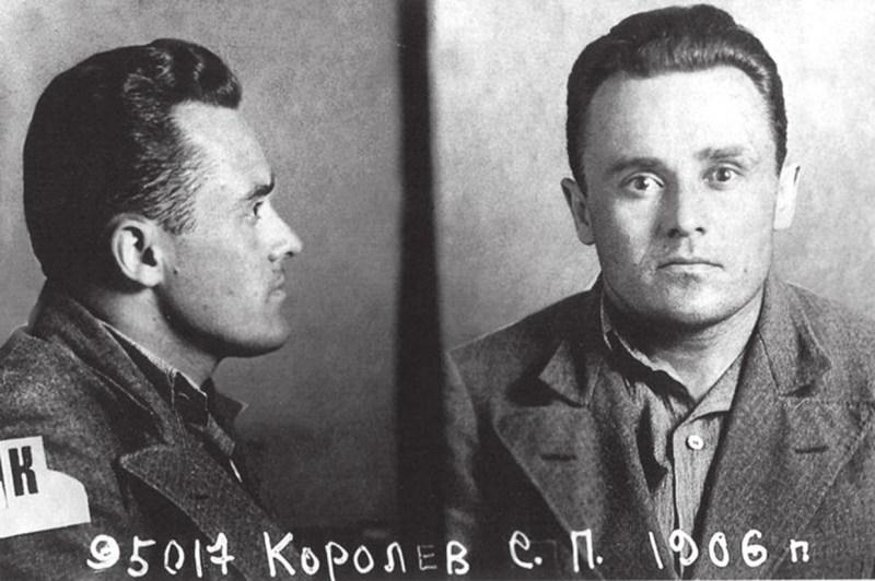 Фото С. П. Королёва перед отправкой в ГУЛАГ, на Колыму