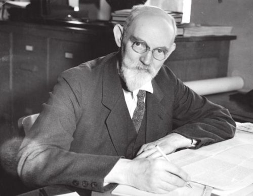 Виллем де Ситтер (1872—1934) в 1930-е годы (Photographic Archive University of Chicago)