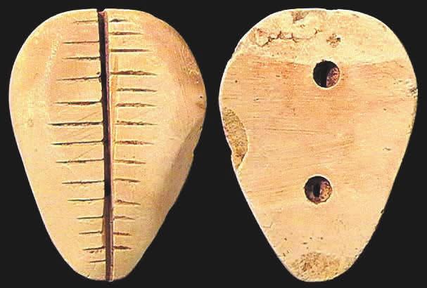 6G. Имитация каури из перламутра, 43 × 35 мм, периоды Шан и Чжоу, ок. 1400–900 годы до н. э. [3]