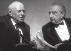 А. Д. Сахаров и Э. Теллер. Ноябрь 1988 года