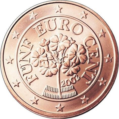 Рис. 9. Австрия, 5 центов