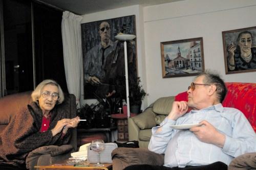 В гостях у Е. Г. Боннэр. Ноябрь 2009 года, Бостон. Фото Ивана Ковалёва