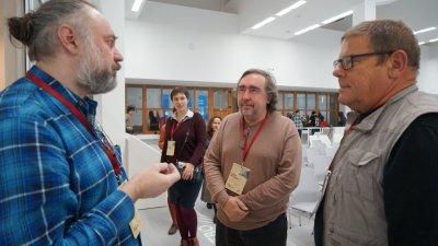 Максим Борисов, Андрей Ростовцев и Борис Штерн