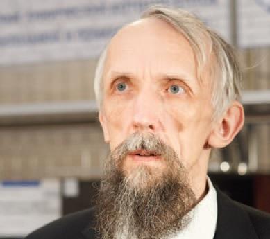 Математик В. Васильев обеспокоен тем, что ученые, чиновники и общество сосуществуют в параллельных плоскостях. Фото И. Соловья