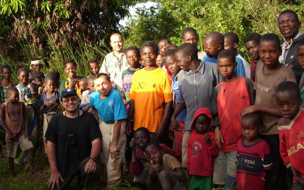 Общение с народом в Мозамбике. Фото автора