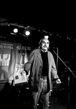 Виктор Коваль на презентации книги «Возвращение в Москву» в клубе «Китайский летчик Джао Да». Москва, 1 сентября 2014 года. Фото Е. Богдановой