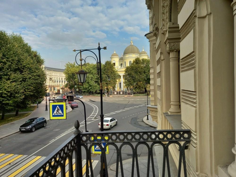 Вид с балкона музея-квартиры Иосифа Бродского