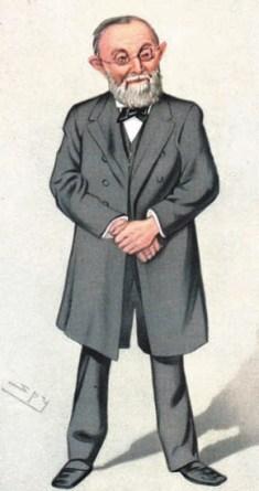 Шарж Р. Вирхова работы Лесли Уорда (1851–1922), www.sil.si.edu