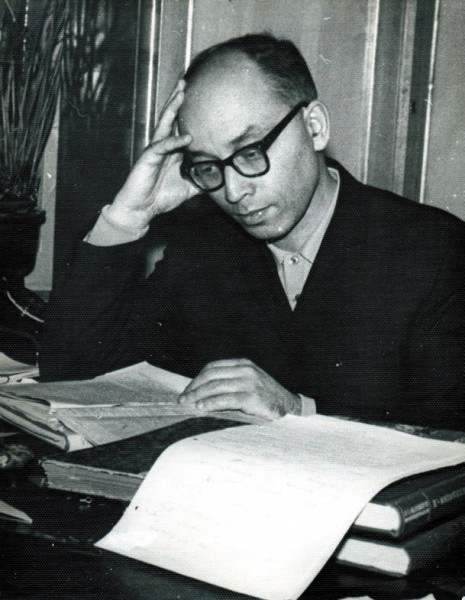 Л.С. Клейн в 1960-е годы. На кафедре археологии Ленинградского университета