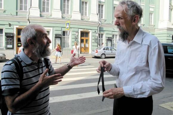 А. Цатурян и В. Васильев. 3 июля 2013 года
