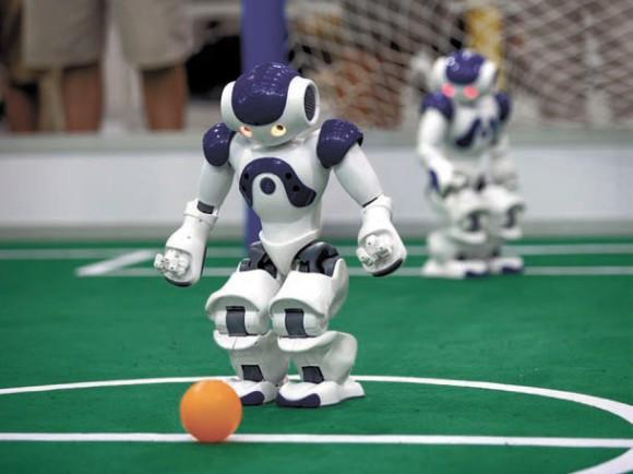 Робот NAO — стандартная платформа RoboCup