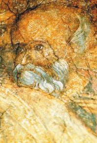 Фрагмент фрески Андрея Рублева