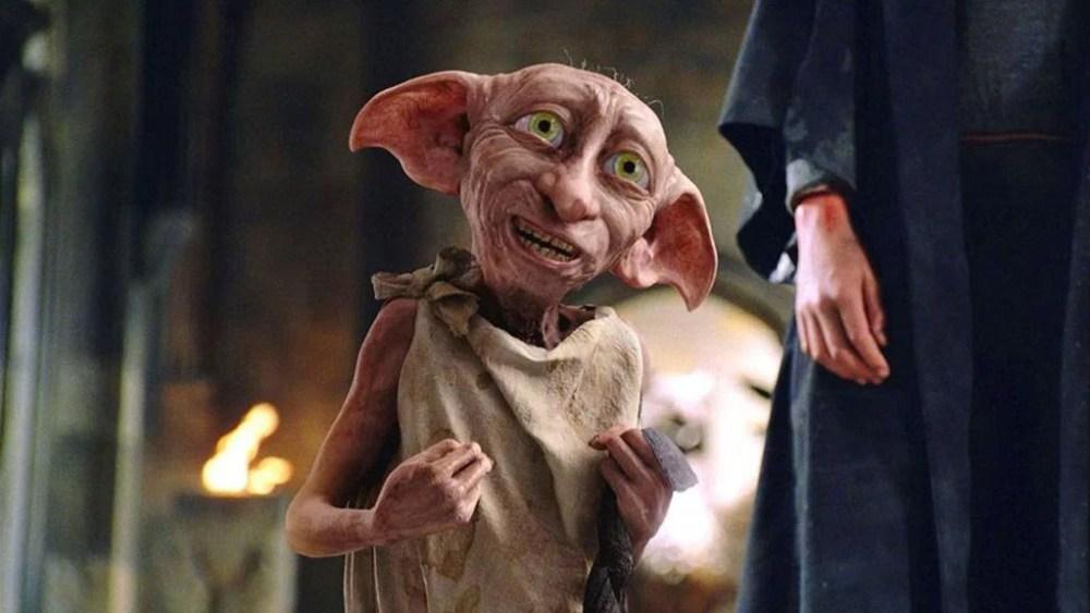 Хозяин подарил Добби носок! Добби свободен! («Гарри Поттер и Тайная комната»)