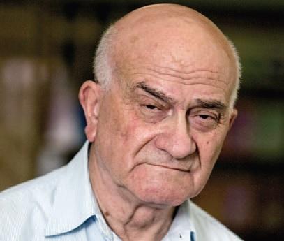 Е. Ясин сыграл на форуме роль желчного старика Болконского. Фото И. Соловья
