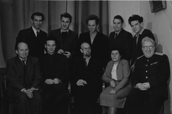 Кафедра теории функций и функционального анализа на мехмате МГУ. Конец 1950-ых