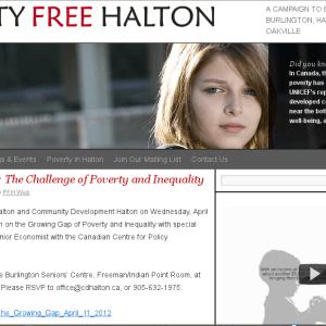 Poverty Free Halton