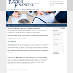 Buxton Financial Advisory Corporation