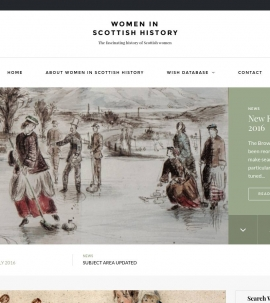 Women in Scottish History (WISH)