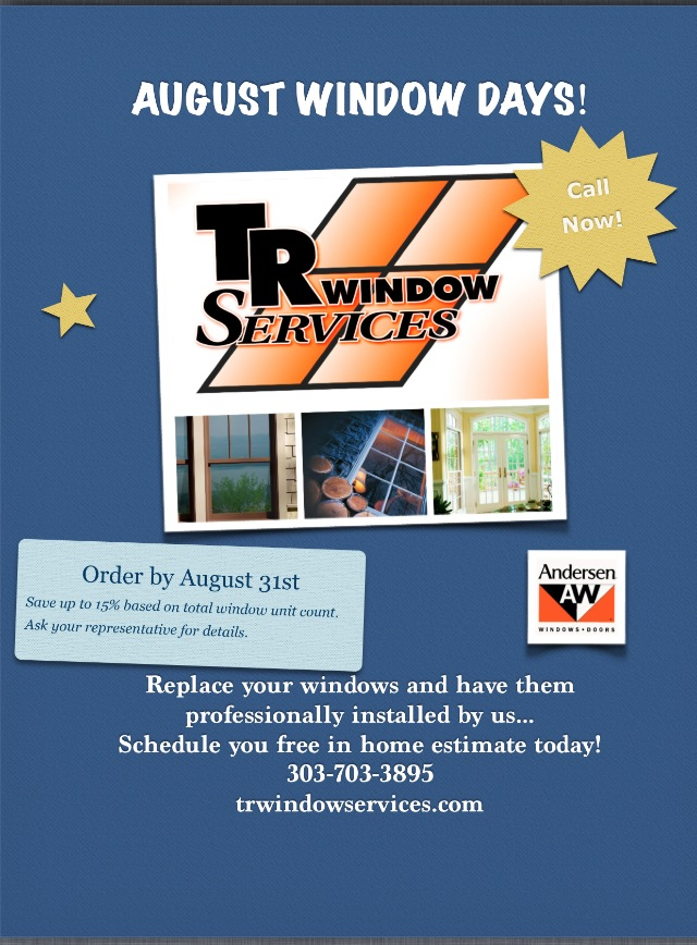Window specials, denver windows