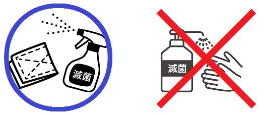 滅菌剤の使い方