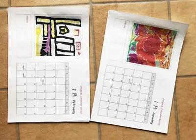 写真でおしゃれに! オリジナル卓上カレンダーを無料テンプレートで作成!!8