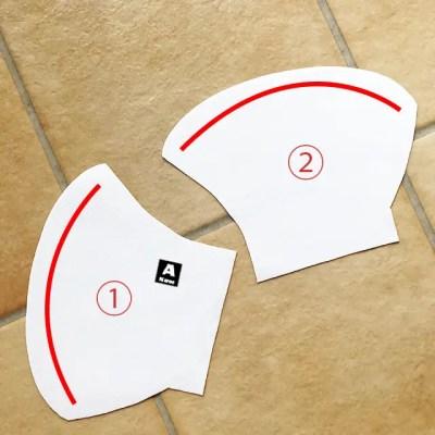 手作り立体マスク(子供・大人用)をWordで簡単デザイン!!9