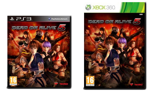 dead or alive 5 - jaquette