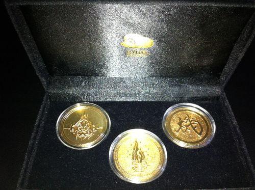 deballage pièces collector nintendo