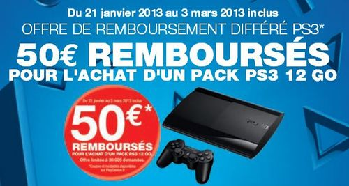 bon plan fnac - playstation 3