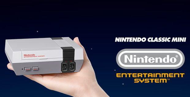Nintendo Classic Mini : 30 jeux NES dans le creux d'une main