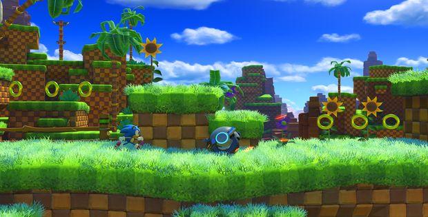 Sonic Forces : feu vert sur la Green Hill Zone