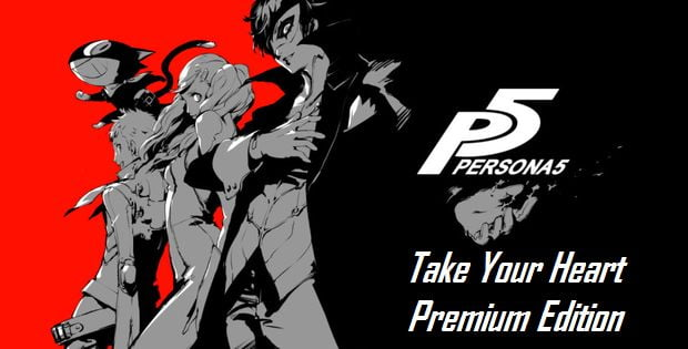 DEBALLAGE - Persona 5 Take Your Heart Premium Edition PS4