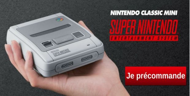 Nintendo Classic Mini : Super Nintendo Entertainment System