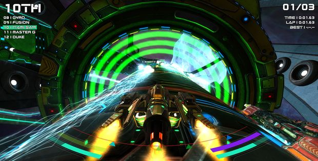Radial-G : Racing Evolved