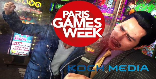 Paris Games Week 2017 - Koch Media, un line-up qui en envoie