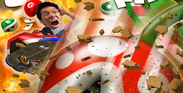 "Mario Kart VR : the ""so british"" real karting simulator"