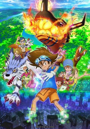 Digimon Adventure série TV
