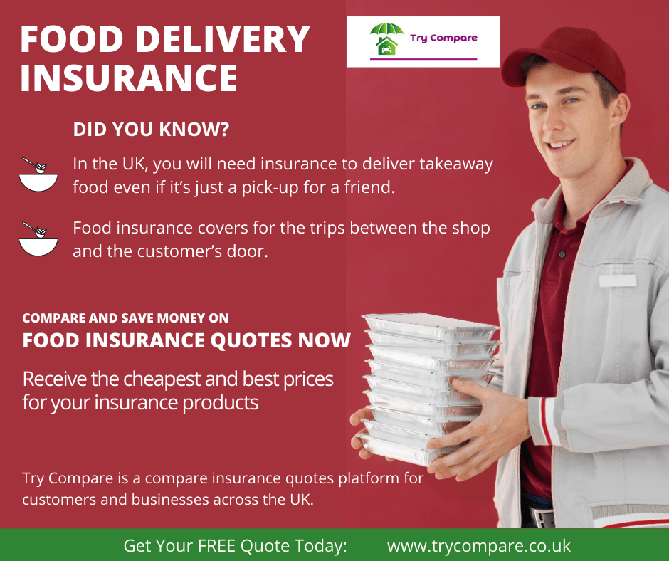 Get food delivery insurance - Try Compare