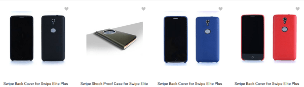 Swipe Elite mobile smartphone cases & accessories flipkart