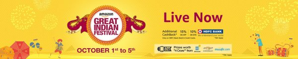 The great Indian festival amazon india sale