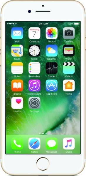 Apple iPhone 7 Gold on Flipkart Front view