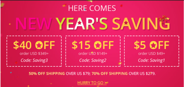 Dressilyme new year deal 2017