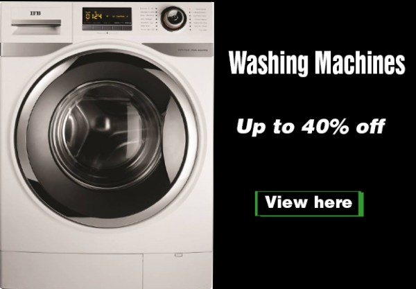 Best washing machines in India at discounted price
