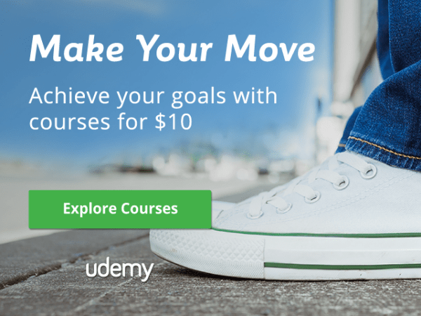 udemy courses for $10 until sep 30th