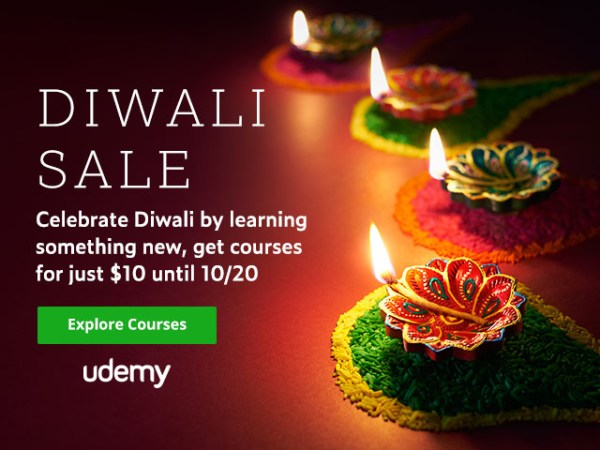 Udemy Diwali Sale Offer
