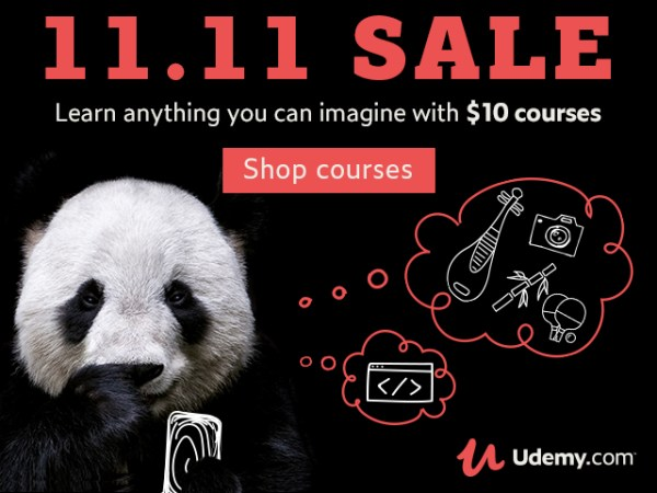Singles day sale udemy - courses for $10