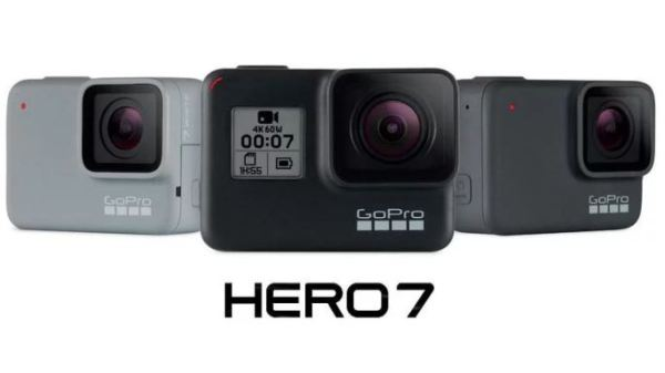 GoPro Hero 7 camera releases - discount on hero 5, hero 6