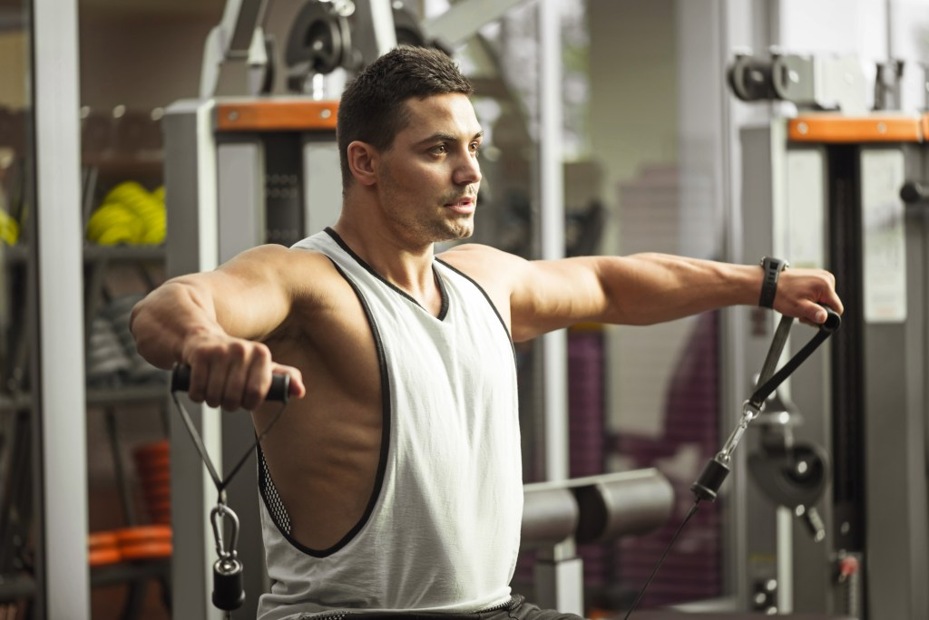 How to Perform the Cable Lateral Raise