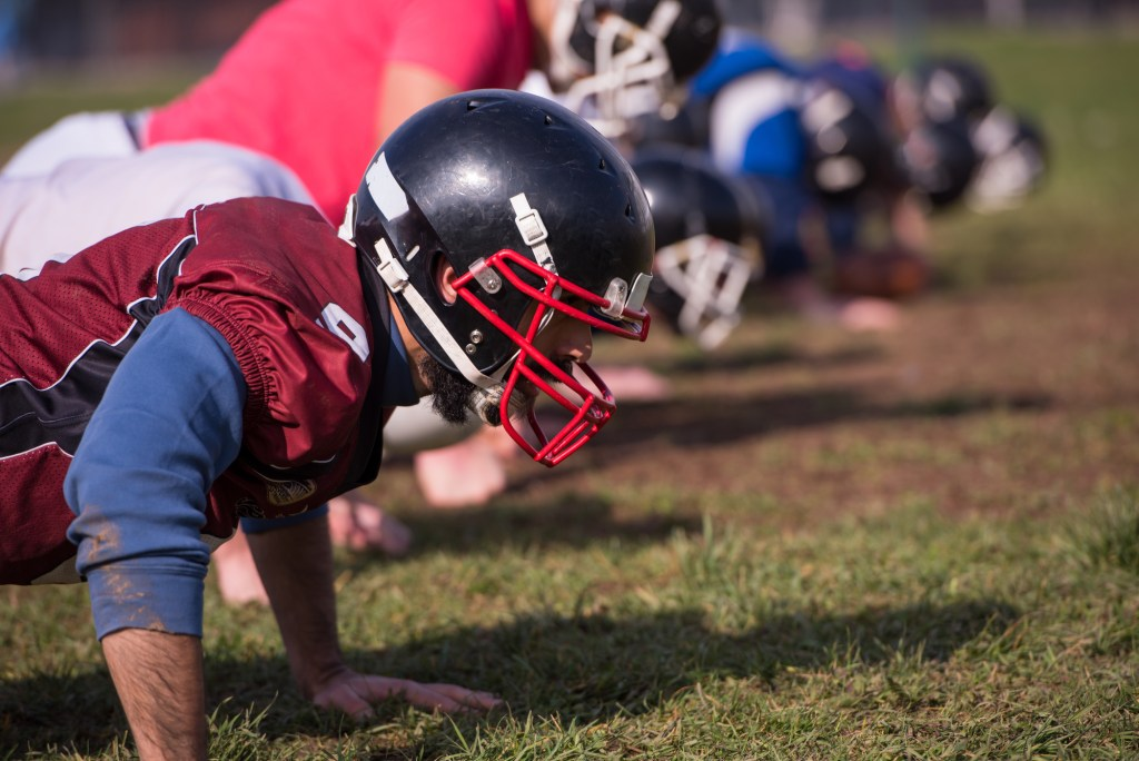 Strength Training For Football Players