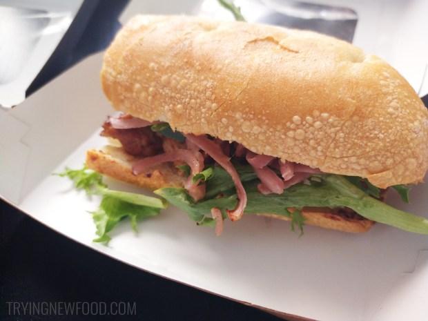 Panera Teriyaki Chicken Sandwich